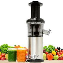 Juicer Tribest Shine Vertical Compact Cold Press Masticating Juicer +Accessories
