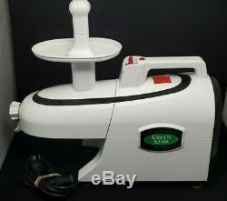 Jumbo Twin Gear GSE-5000 Green Star Elite Fruit Juicer Food Processor
