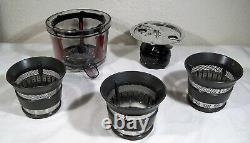 KITCHENAID Maximun Extraction Juicer KVJ0111OB Onyx Black Open Box, Mint