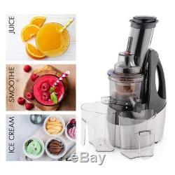 KLARSTEIN Juicinator Slow Juicer 240 W Fruit and Vegetable Cold Press Juice