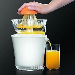 KRUPS ZX7201 Electric Acrylic Citrus Juicer Automatic Fruit Pressure Detection