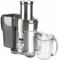 Kenwood EXCEL Juicer JE850 1500W XXL Feed Tube Anti Drip APEX System GENUINE NEW