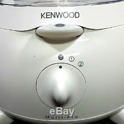 Kenwood FP580 White Multi Pro Food Processer Blender Mixer Juicer Slice & Dice