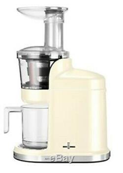 KitchenAid 5KVJ0111BAC Artisan Maximum Extraction Juicer Almond Creme