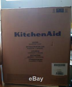 KitchenAid 5KVJ0333BAC Artisan Fast Centrifugal Juicer Almond Cream
