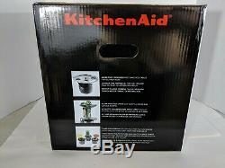 KitchenAid Maximum Slow Health Electric Juicer Easy Fruit Juice Extractor, White