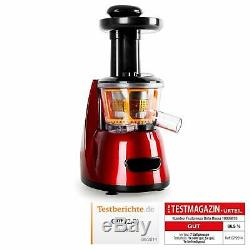 Klarstein Fruitpresso Bella Rossa Extractor Juice Fruits and Vegetables Silent