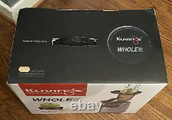 Kuvings C7000S Whole Slow Elite Juicer Silver NEW IN BOX