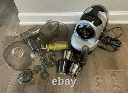 Kuvings Masticating 170W Slow Juicer Silver Pearl nje-3580u