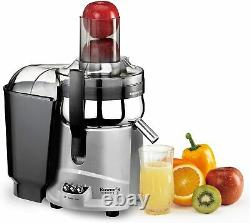 Kuvings NJ-9500U Centrifugal Juice Extractor BPA-Free Components Silver