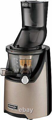 Kuvings Whole Slow Juicer EVO820CG-Inc Smoothie & Blank Strainer- Champagne, Gold