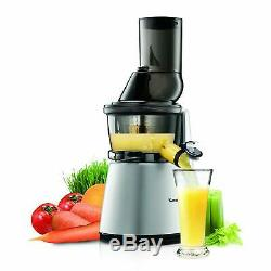 Kuvings Whole Slow Juicer Elite C7000S BPA Free Components, Silver