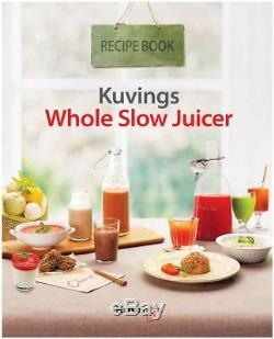 Kuvings Whole Slow Juicer Purple Red