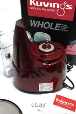 Kuvings Whole Slow Juicer Purple Red B6000