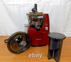 Kuvings Whole Slow Juicer ULD-622NB Red Body, Gently Used