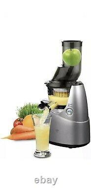 Kuvings Whole Slow Masticating Juicer in Silver B6000S NEW IN BOX