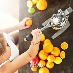 Lumaland Commercial Grade Hand Press Juicer Citrus Fruits Orange Professional