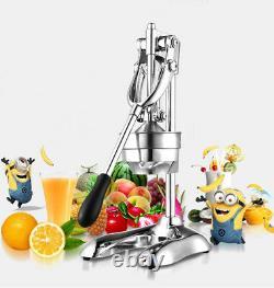 Manual Citrus Juicer Press Orange Fruit Press Squeezer Household Commercial Bar
