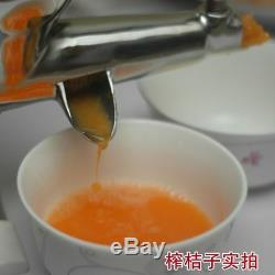 Manual Juicer Slow Wheat Grass Hand Squeezer Fruit Vegetable Orange Press Juice