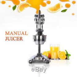 Manual Squeezer Juicer Hand Press Fruit Orange Lemon Juice Extractor Heavy Duty