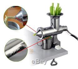 Manual Stainless Steel Juice Squeezer Juice Extractor Fruit Juice Presser