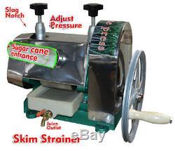 Manual Sugar Cane Ginger Press Juicer Juice Machine Extractor Mill Blender New