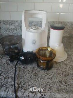 MaxTractor Royal Prestige Food Health Beverage Juicer Model ULD-322NB White