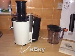 Mint Bosch Premium Whole Fruit Juicer / Juice Extractor-model Mes20a0gb