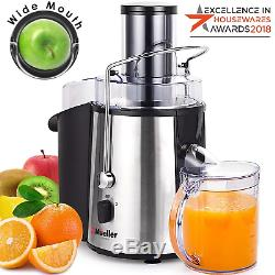 Mueller Austria Juicer Ultra 1100W Power, Easy Clean Extractor Press Centrifugal