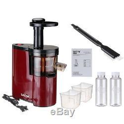 -NEW- 220V 150W Electric Slow Juicer Fruits Vegetables Low Speed Juice Maker Ext