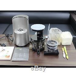 New Hurom Hl-sbf11 Silver Color Slow Juicer Juice Fruit