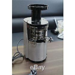 NEW HUROM HL-SBF11 Silver Color Slow Juicer Juice Fruit Vegetable Extractor