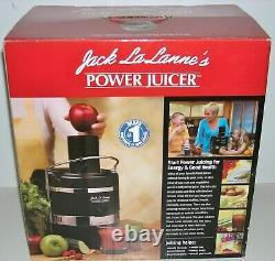 NEW Jack LaLannes Power Juicer The Ultimate Juicing Machine NIB NOS