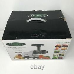 NEW Omega Compact Slow Speed Juicer Nutrition System CNC80S 200 Watt OPEN BOX