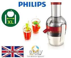 NEW Philips Viva JUICER HR1855/90 extractor fruit fresh XL feeding tube easy