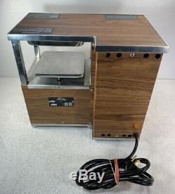 NORWALK JUICER Model 270 Hydraulic Fruit Press Juicer Used Tested Read Descript