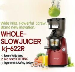 NUC Kuvings KJ-622R Slow Juicer Low Speed Squeeze Juice / Juice Extractor