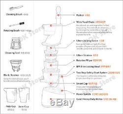 NUC Kuvings KJ-623S Whole Mouth Slow Fruit Juicer Juice Extractor (B6000S) Fedex