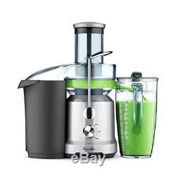 New Breville The Juice Fountain Cold Powerful Healthy Juicer Quieter Operation