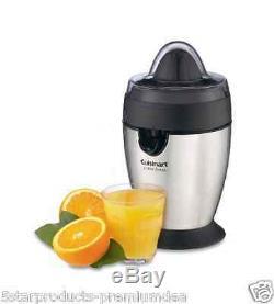 New Cuisinart Stainless Steel Juicer Fruit Juice Kitchen Citrus Press Orange