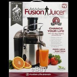 New Jack Lalanne Juicer Stainless Steel Fruit Vegetable Juice Extractor Squeezer