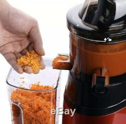 New Slow Masticating Juicer Cold Press Extractor Fruit Vegetable