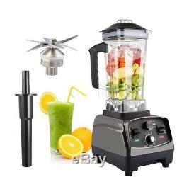 Ninjashot Smoothie Maker 2200W Food Blender 2L BPA-Free Glass Jug Blender
