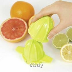 Nutri-Q Electric Quick Press Citrus Jug Fruit Juice Juicer BPA Free 40W 1.2L
