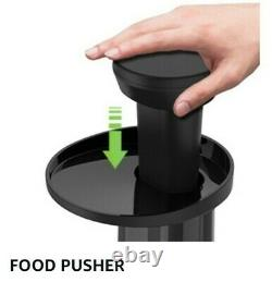 Nxone Slow Masticating Juicer Extractor Cold Press Juicer with Brush & Recipes New