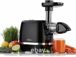 OMEGA Cold Press 365 Juicer Slow Masticating Extractor Black (H3000D)