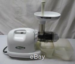 OMEGA Juice Extractor #8004 Fruit & Vegetable Masticating JUICER