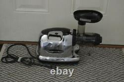 OMEGA Juicer 8006 Dual-Stage Adjustable Juicing Extractor Excellent Condition
