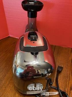 OMEGA Juicer 8006 Dual-Stage Adjustable Juicing Extractor, Free Shipping