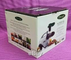OMEGA Slow Masticating Juicer NC800HDS Healthy Juice Extractor Nutrition Center